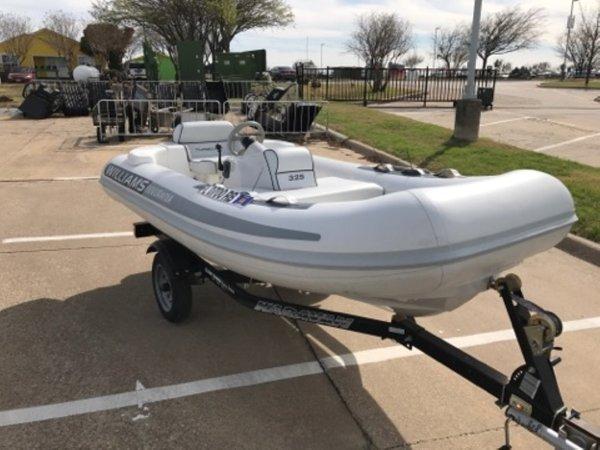 Used Williams Performance Tenders 325 Turbo Jet Tender Boat For Sale