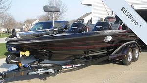 Used Triton 21 HP Elite DC Bass Boat For Sale