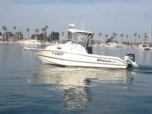 Used Triton 2486 WA Dive Boat For Sale