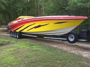 Used Hustler 50 Monster High Performance Boat For Sale