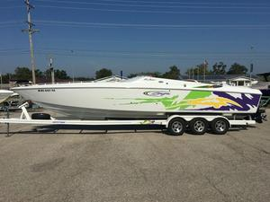Used Baja Marine 33 Outlaw High Performance Boat For Sale