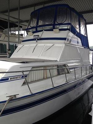 Used Marinette 37 Aluminum Cruiser Motor Yacht For Sale