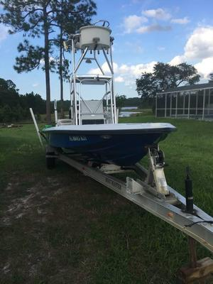 Used Champion back country 201 pro guide Flats Fishing Boat For Sale