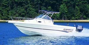 Used Caravelle 230 Walk Around Outboard Saltwater Fishing Boat For Sale
