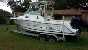 Used 2000 Robalo 2440 Walk Around Walkaround Fishing Boat For Sale