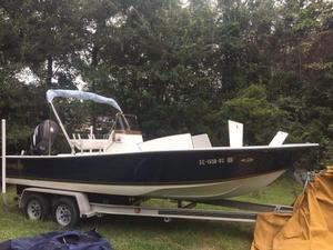 Used Action Craft 21' Coastline Tournament Edition Center Console Fishing Boat For Sale