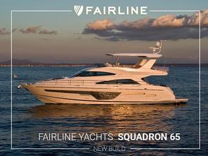 New Fairline Squadron 65 Flybridge Boat For Sale