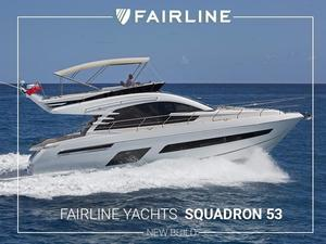 New Fairline Squadron 53 Flybridge Boat For Sale