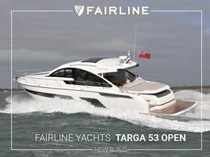 New Fairline Targa 53 Open Flybridge Boat For Sale