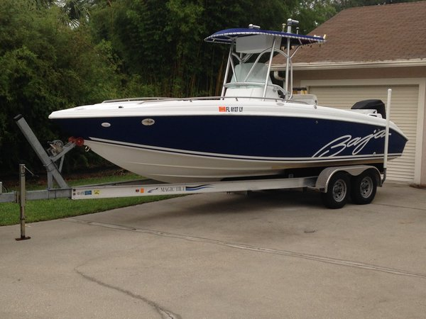 Used Baja 250 Center Console Center Console Fishing Boat For Sale