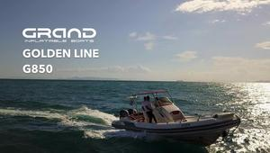 New Grand G850 GL Rigid Sports Inflatable Boat For Sale