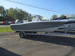 Used Tidewater Boats 198 CC Adventure Center Console Fishing Boat For Sale