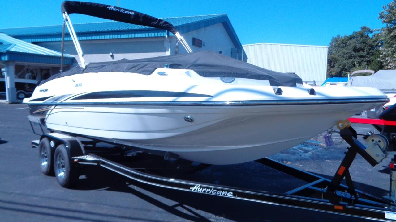 2018 new hurricane sundeck sport ss 201 i o deck boat for for Hurricane sundeck for sale