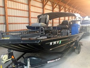 Used Triton Boats JT 17 Sports Fishing Boat For Sale