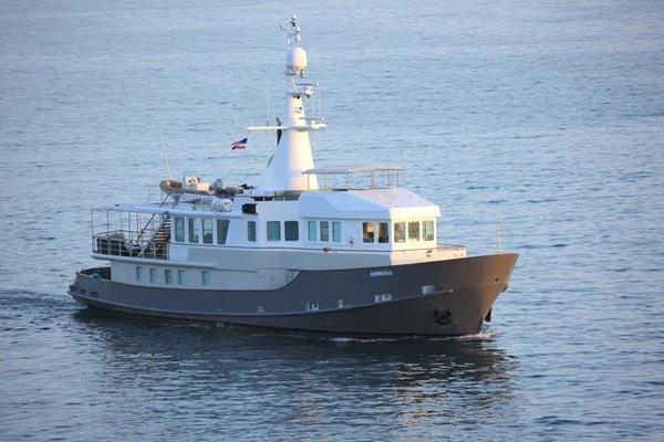 Used Baltic Tug Converted Steel Tug Pilothouse Boat For Sale