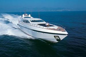 New Mangusta 108 Motor Yacht For Sale