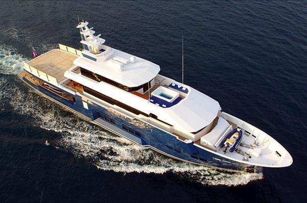 Used Niigata Engineering HYS Conversion Mega Yacht For Sale
