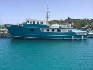New Ocean Voyager Expedition Motor Yacht For Sale