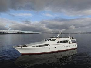 Used Monk McQueen Pilothouse Boat For Sale