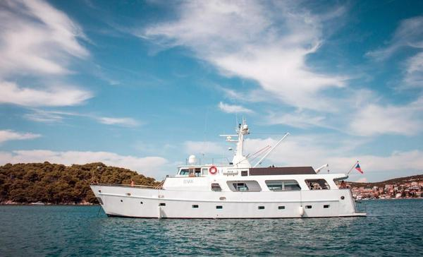 Used Torpoint Steel Boats Trawler Boat For Sale