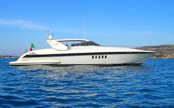 Used Mangusta 80 Motor Yacht For Sale