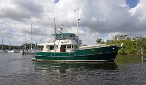 Used Custom Trawler Boat For Sale
