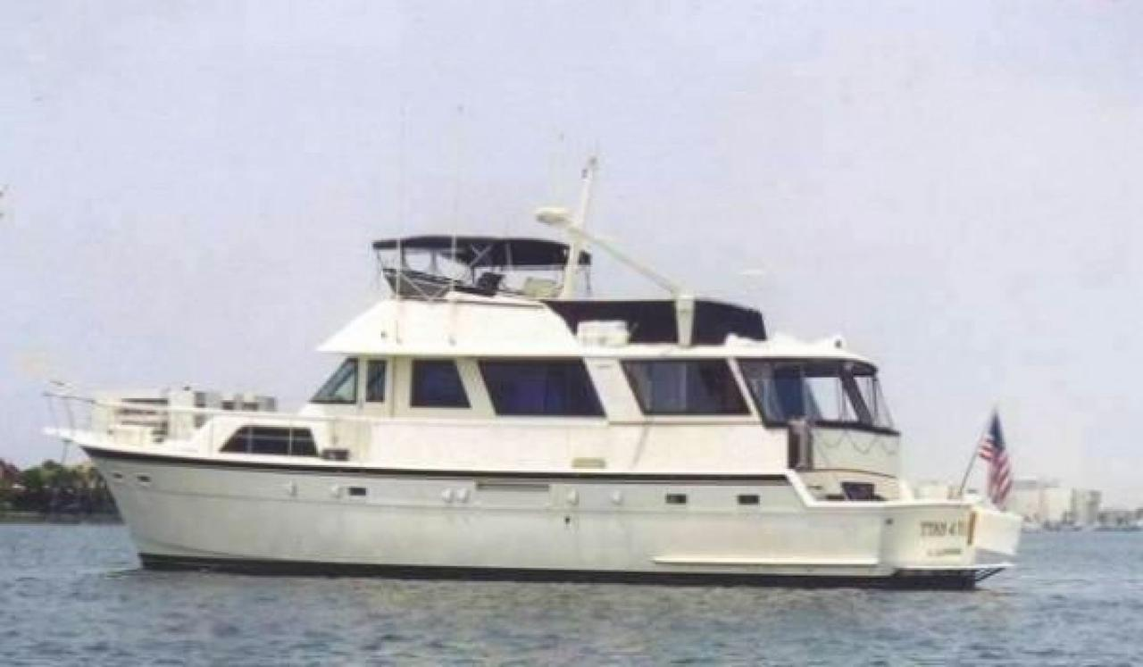 1981 used hatteras cockpit motor yacht motor yacht for for Used motor yacht for sale
