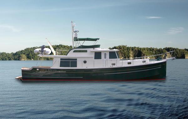 Used Krogen Express Motor Yacht For Sale