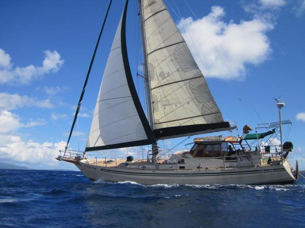 Used Aluminum Boat Co. Pilot House Cruiser Sailboat For Sale