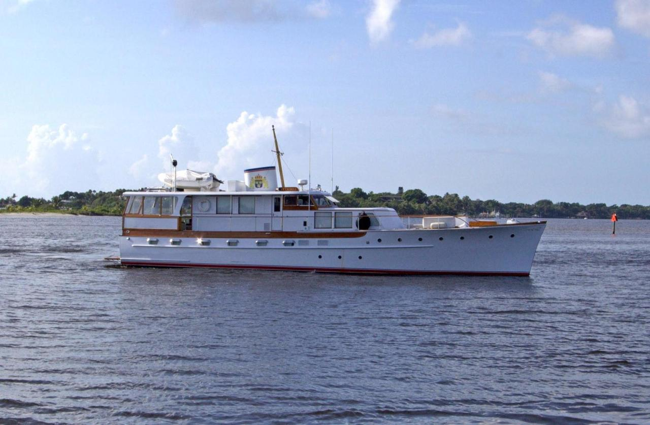 1954 Used Trumpy Motor Yacht For Sale 795 000 Stuart