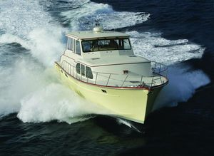 Used Huckins Linwood 56 Downeast Fishing Boat For Sale