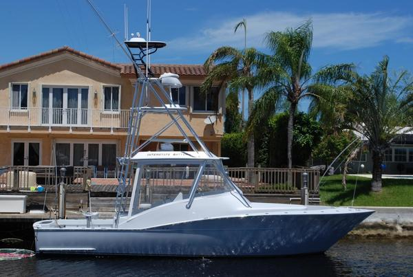 Used Custom Carolina Legend Express Walkaround Fishing Boat For Sale