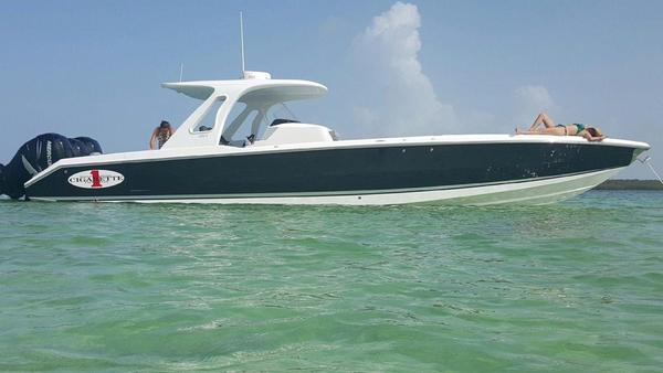 Used Cigarette 39 GTS Center Console Fishing Boat For Sale