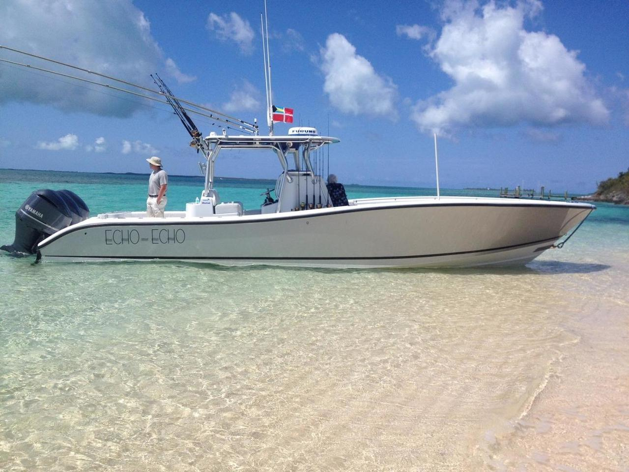 2013 used yellowfin 36 offshore w helm master center for Used fishing boat