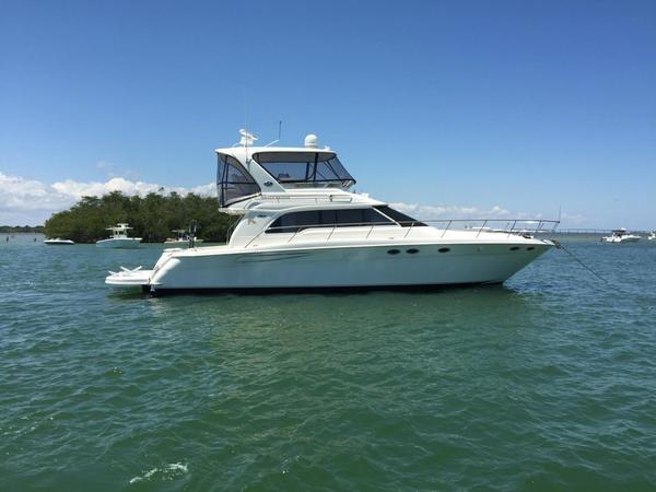 Used Sea Ray SEDAN BRIDGE Convertible Fishing Boat For Sale