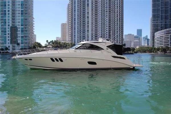 Used Sea Ray 54 Sundancer Express Cruiser Boat For Sale
