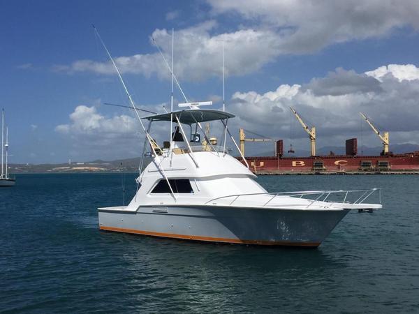 Used Bertram 37 Convertible Saltwater Fishing Boat For Sale