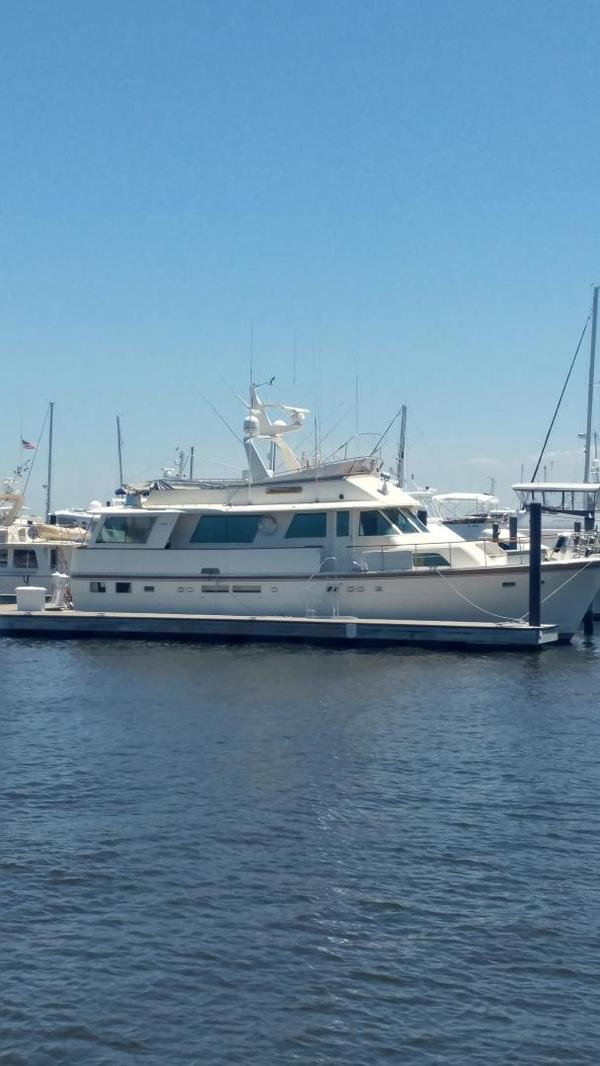 Used Hatteras Motor Yacht Wide Body Motor Yacht For Sale