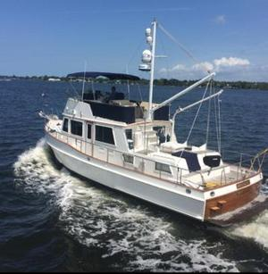Used Grand Banks 42 Heritage Classic Trawler Boat For Sale