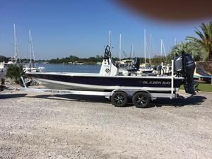 New Blazer Bay Boat 2420 GTS Fully Loaded High Performance Boat For Sale