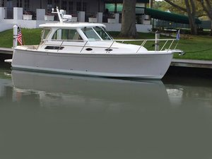 Used Back Cove 30 Downeast Fishing Boat For Sale
