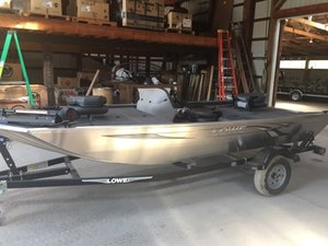 New Lowe SKORION Sports Fishing Boat For Sale