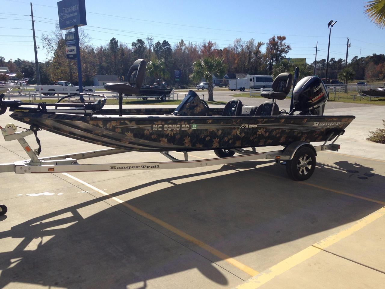 2016 used ranger rt188 aluminum fishing boat for sale for Used fishing boats for sale in eastern nc