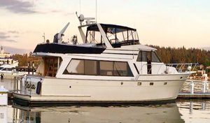 Used Angel Marine Pilothouse House Boat For Sale