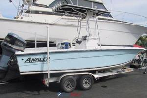 Used Angler Grand Bay 2200 Saltwater Fishing Boat For Sale