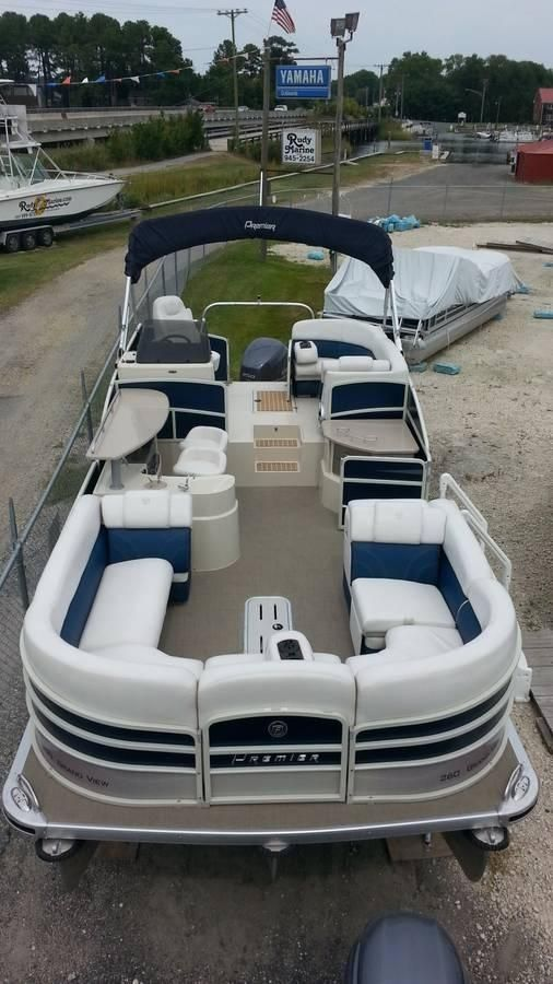 2014 Used Premier 260 Grand View260 Grand View Pontoon Boat