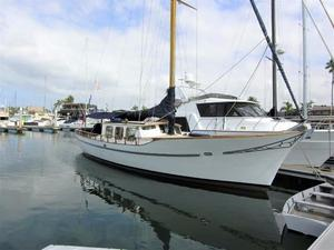 Used Kettenburg Motorsailer 47 Cruiser Sailboat For Sale