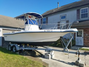 Used Mckee Craft 22 Runaway Center Console Fishing Boat For Sale