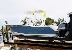 Used Tidewater 230 CC Adventure Saltwater Fishing Boat For Sale