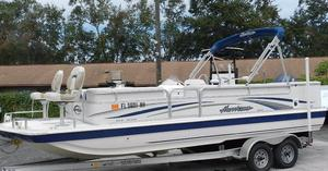Used Hurricane 226 F Deck Boat For Sale
